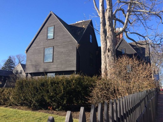 The House of the Seven Gables is said to have a few ghosts on the premises.