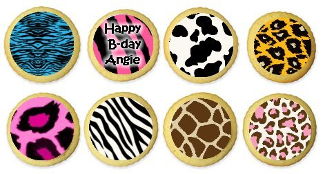 Animal print cookies in a snap!