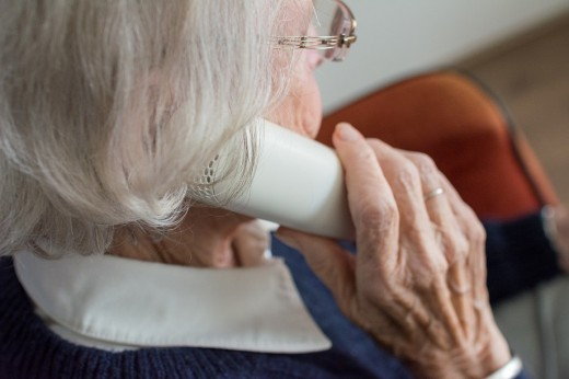 Scam callers often target vulnerable seniors.
