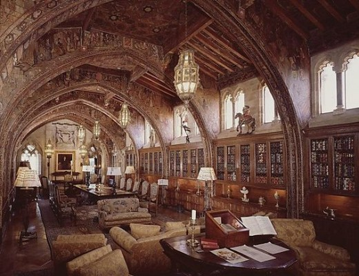 Hearst Castle Library