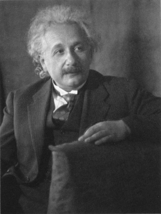 Albert Einstein, the great Scientist who discovered  the Theory of Relativity and the equation  E = mc2