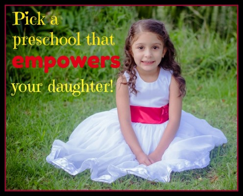 Picking the Best Preschool for Your Daughter: Why Gender Equality Matters