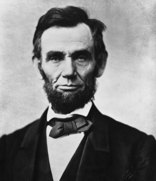 Abraham Lincoln:   February 12, 1809 - April 15, 1865