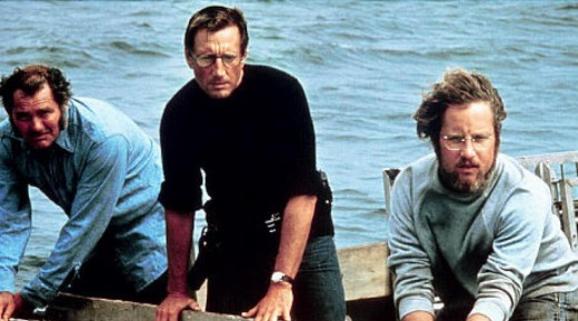 From left to right: Quint, Brody, Hooper
