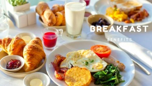 The breakfast benefits