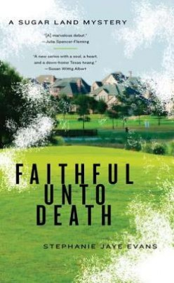 Book Review: Faithful Unto Death by Stephanie Jaye Evans