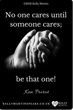 No one cares until someone does care