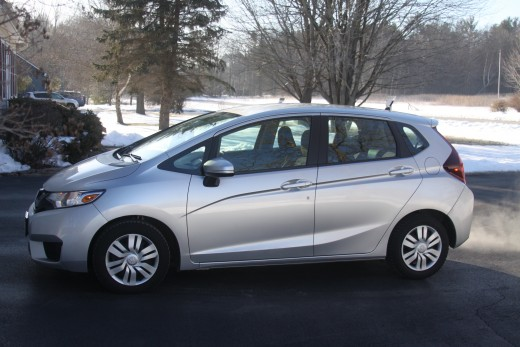 "Tons of fun, great mileage and great in the snow; that's the 2015 Honda Fit !! (A friend of mine calls it ""Glenn's Pocket Rocket"""
