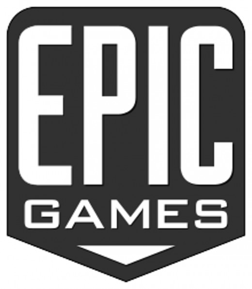 The Epic Games logo.