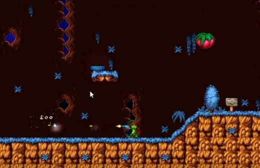 A screenshot of the second game.