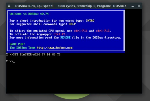 DOSBox is one option you can use.