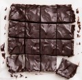 Sinfully Delicious Raw Chocolate Brownies.