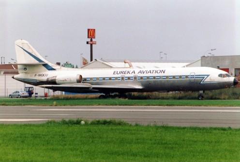 Eureka Aviation Sud SE-210 Caravelle 11R at Kortrijk - Wevelgem (KJK / EBKT), Belgium