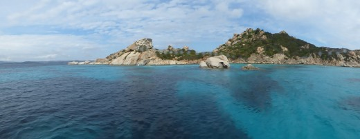 La Maddalena Island in Sardinia
