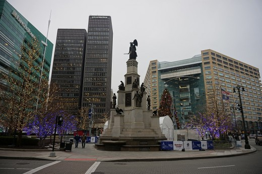 Michigan Soldiers and Sailors Monument & Detroit's Point of Origin