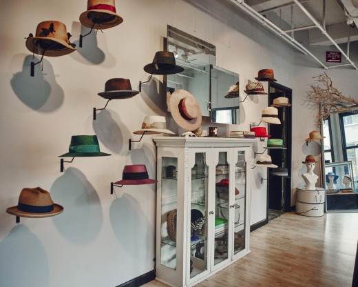 Inside the former Makins Hat Factory, located in NYC's Garment District on 35th and 7th