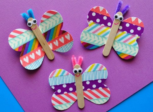 55 Beautiful Butterfly Craft Ideas