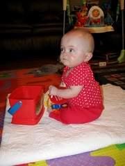 Becca at 1 year