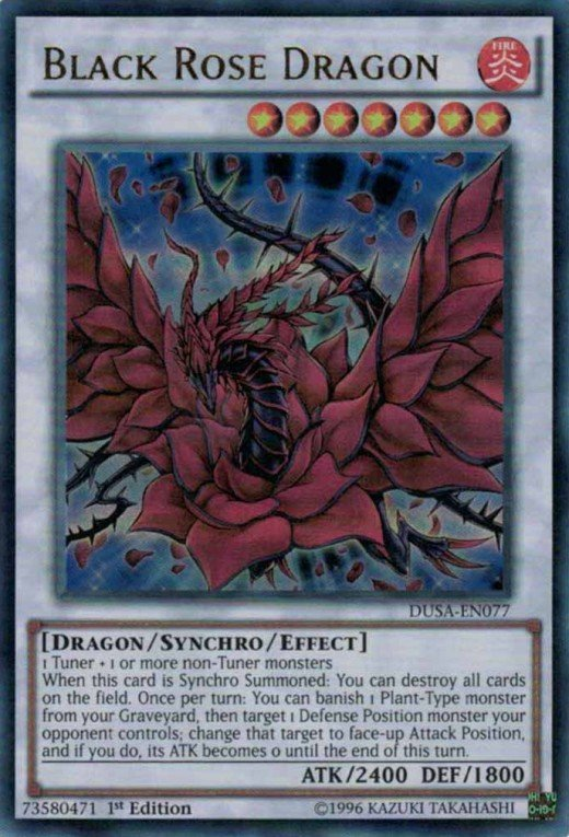 Black Rose Dragon