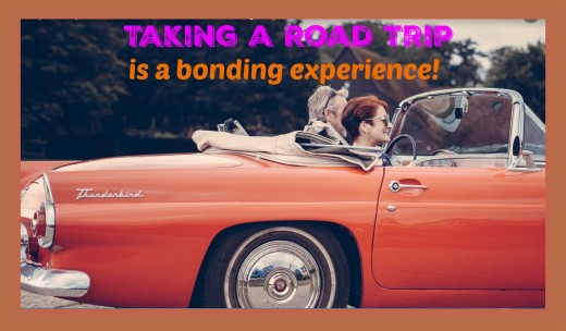 No technology, no distractions, no hassles of everyday life...a road trip is an ideal way to spend quality time together and have an adventure!