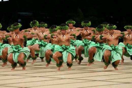 2017 Merrie Monarch 4th Place Kāne Kahiko, Kawaiʻulaokalā, Kumu Hula Keliʻihoʻomalu Puchalski