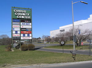 Cross County Center, New York an early counterpart of Frandor, recently renovated