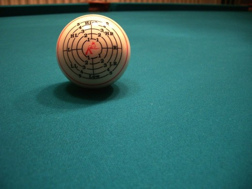 An example of a practice ball for honing English skills.
