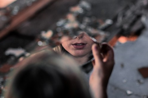 An irrational fear of mirrors is known as Eisoptrophobia or Catoptrophobia.