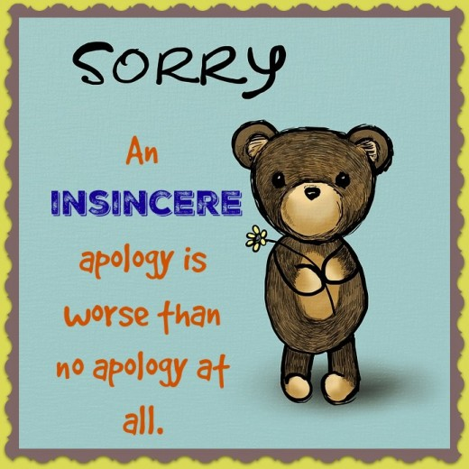 How to give a proper apology dos and dont for saying im sorry im sorry you got hurt by what i said is not a thecheapjerseys Choice Image