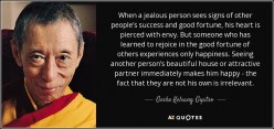 Jealous of other people's Success