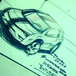 How to Draw Cars Luciano Bove's Tips