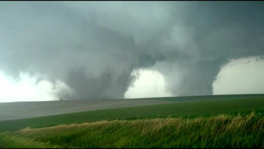 The Twin EF4 tornadoes of Pilger, NE