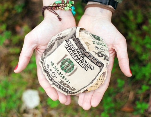 Money received as donations must be properly accounted for.