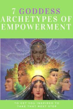 7 Goddess Archetypes of Empowerment