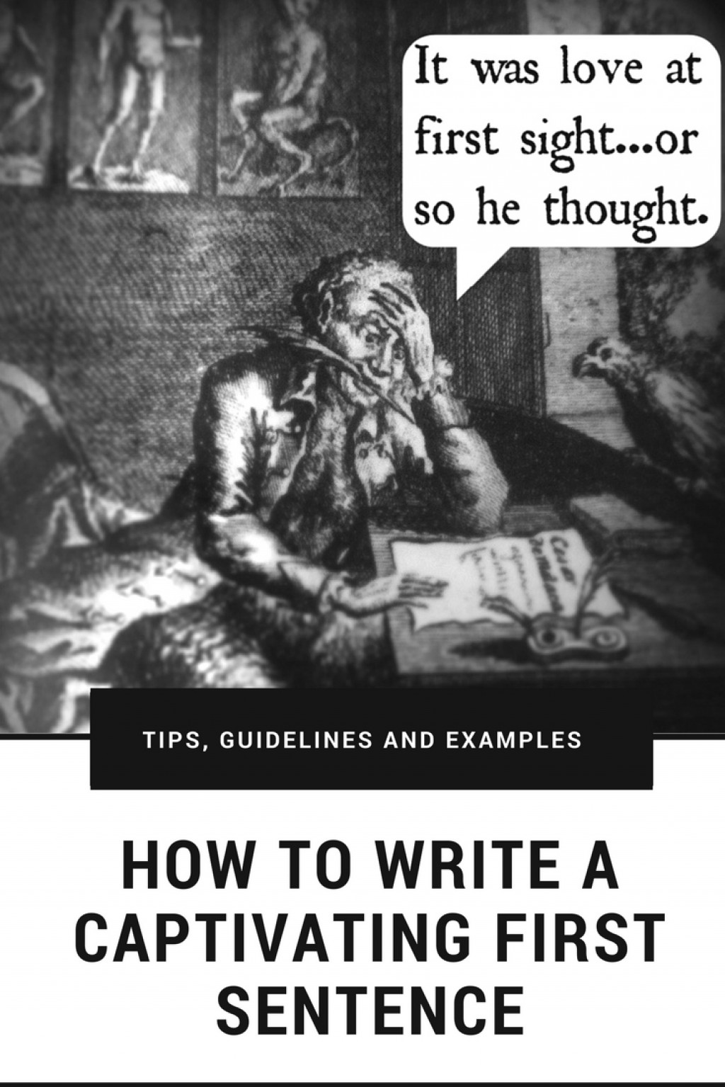 how to write a captivating first sentence  tips