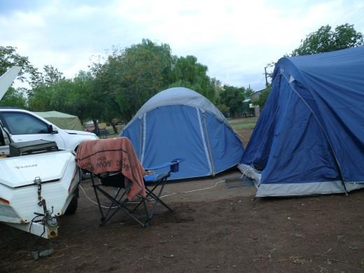 Campsite Oudtshoorn