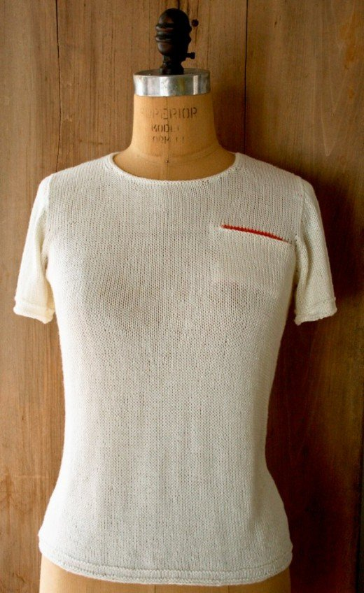 T-Shirt Sweater with pocket