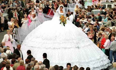 You will regret paying for a big wedding by with your credit card.