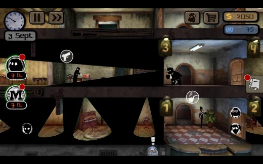 Image of gameplay of Beholder