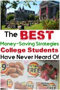 The Best Money-Saving Strategies College Students Have Never Heard Of