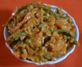 Vegetable Chili Milli With Cashew Nuts And Almonds Gravy