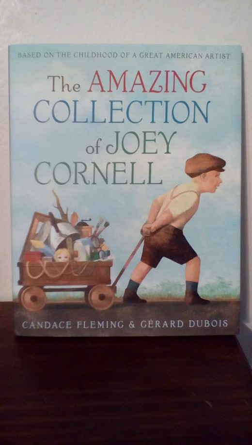 Charming book to introduce children to art and collecting