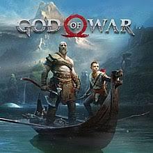 Official box art of God of War(2018)