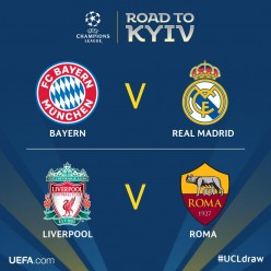 The Uefa Champions League Semi-Finals