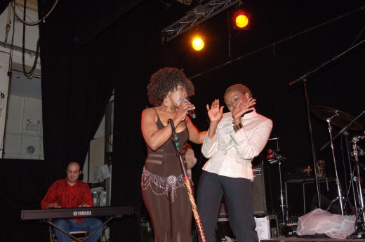 Suthukazi performing at Kings Cross, London