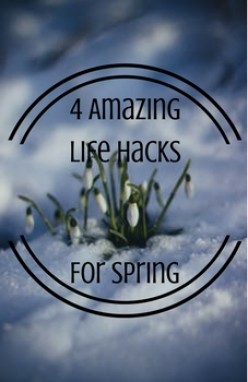 4 Amazing Life Hacks for Spring
