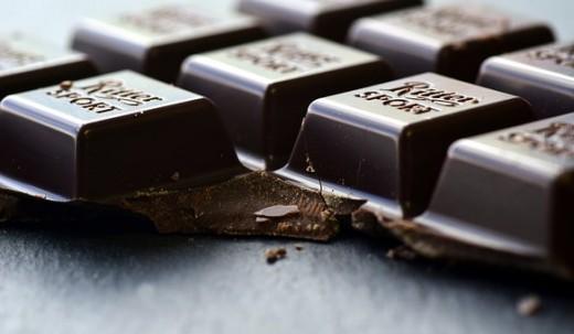 Dark Chocolate squares.
