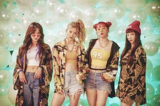 """The lastest release by EXID is a single album titled """"Lady."""""""