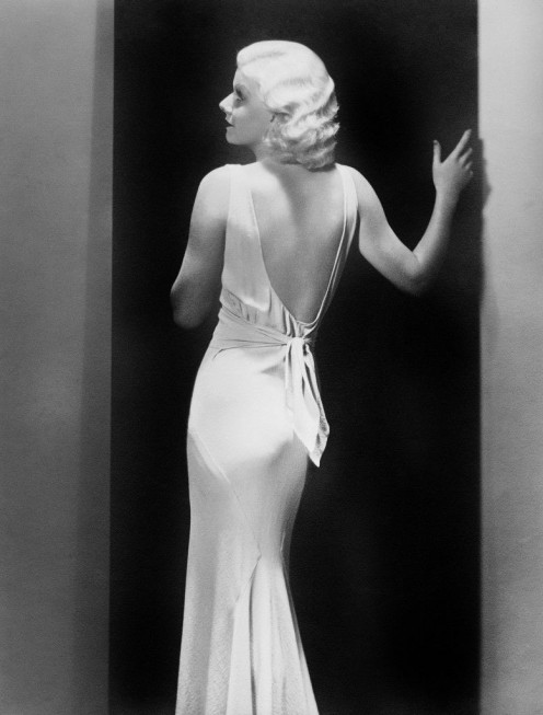 Jean Harlow, Blonde movie star of the 1930s.