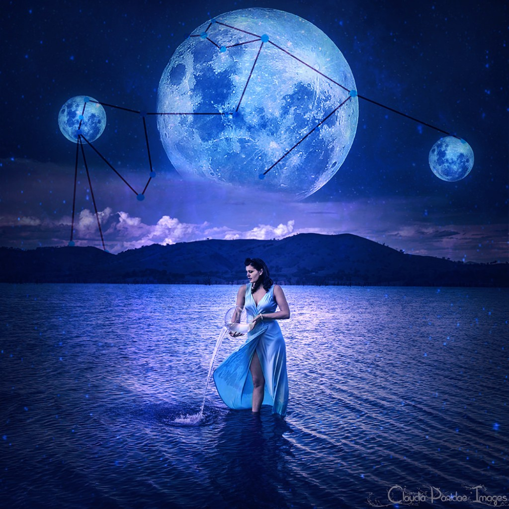 Aquarius Moon Sign Emotions Exemplore Image Moonphasesdiagramjpg For Term Side Of Card
